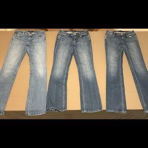 WHBM Boot Leg Jeans, Size 4L